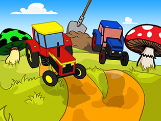 "Game""RC Tractor Kids Racing"""