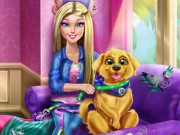 "Game""Barbie Puppy Potty Training"""