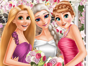 "Spēle""Elsa And Princesses Wedding"""