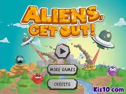 "Game""Aliens Get Out"""