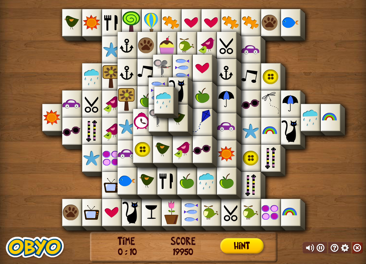 "Game""Mahjong Fun"""