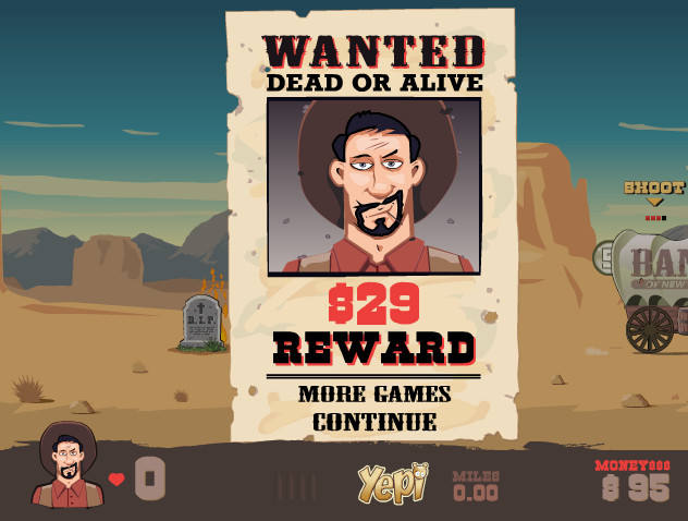 "Game""The Most Wanted Bandito"""