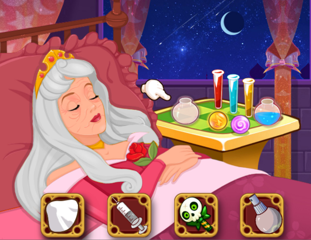 "Игра""Sleeping Beauty Wakeup"""
