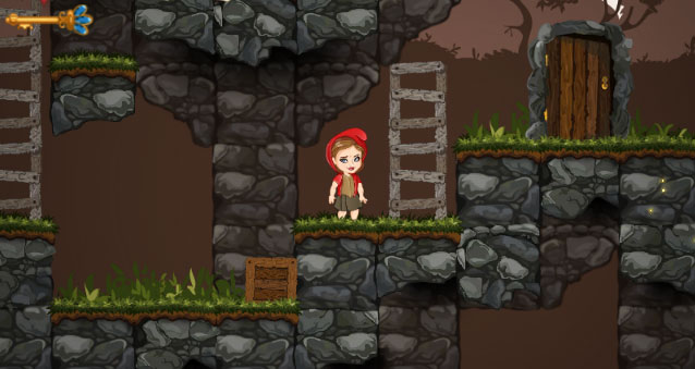"Game""Red Girl in the woods"""