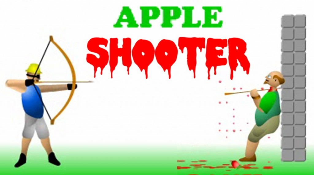 "Spēle""Apple Shooter"""