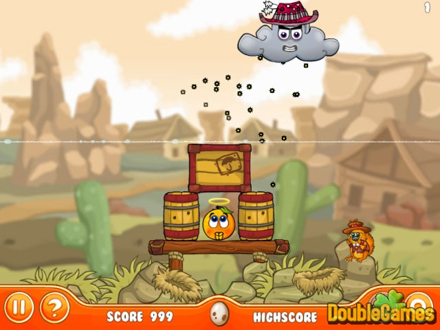 "Game""Cover Orange Journey Wildwest"""