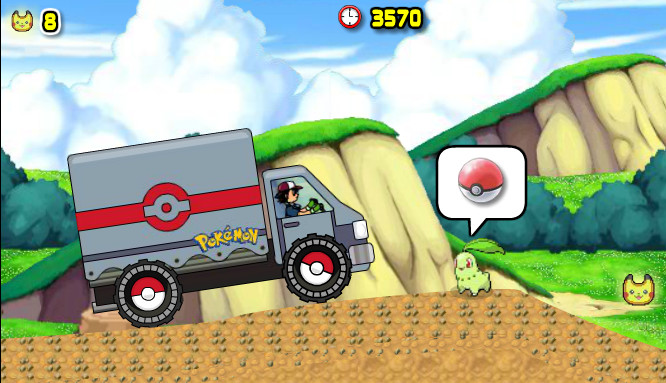 "Game""Pokemon Catch Journey"""