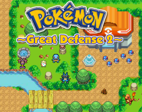 "Game ""Pokemon Great Defense 2"""