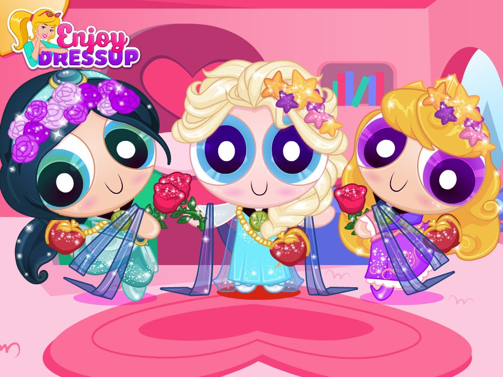 "Game""Powerpuff Disney Girls"""