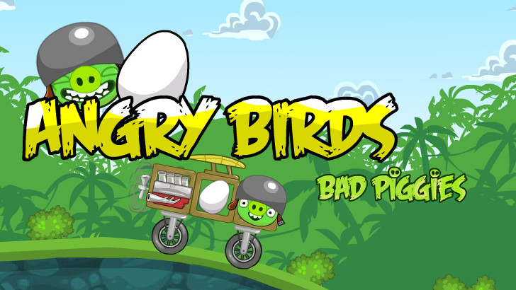 "Žaidimas""Bad Piggies Rocket Jet"""