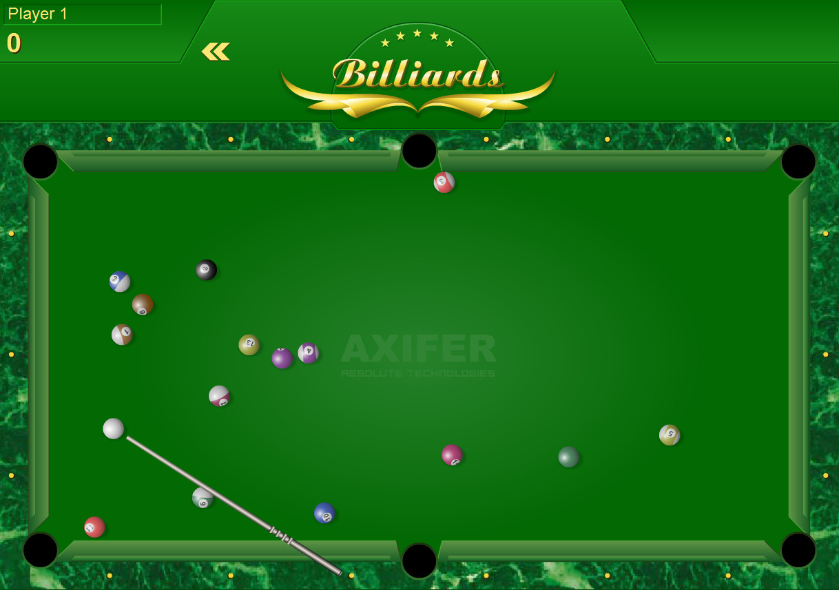 "Žaidimas""Super Billiards"""