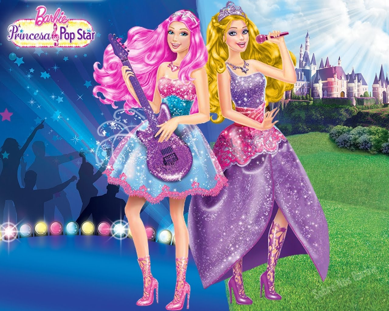"Spēle ""Barbie Princess And The Popstar"""
