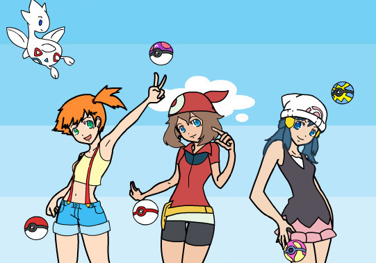 "Game ""Pokemon Girls Dress Up"""