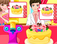 "Game""Wedding Cake Factory"""