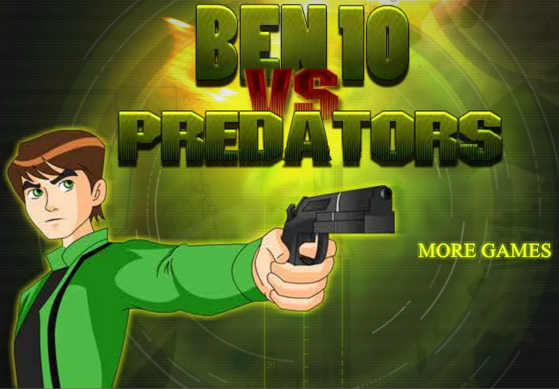 "Game ""Ben10 Vs Predator"""