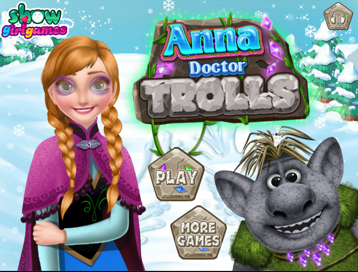"Game""Anna Doctor Trolls"""