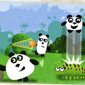 "Game""Three Pandas"""