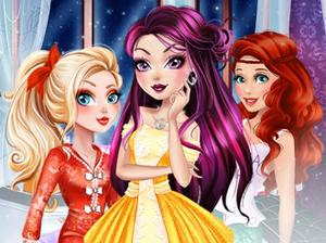"Game""Princesses Bffs Night"""