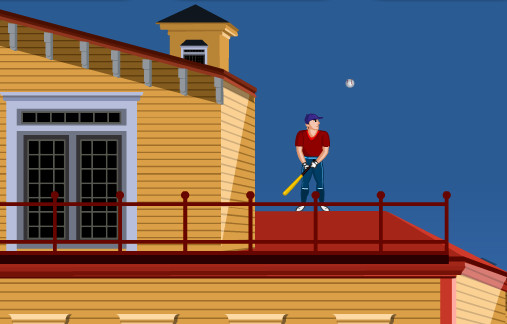"Game""Urban BaseBall"""