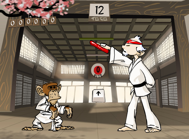 "Game""Karate Monkey"""