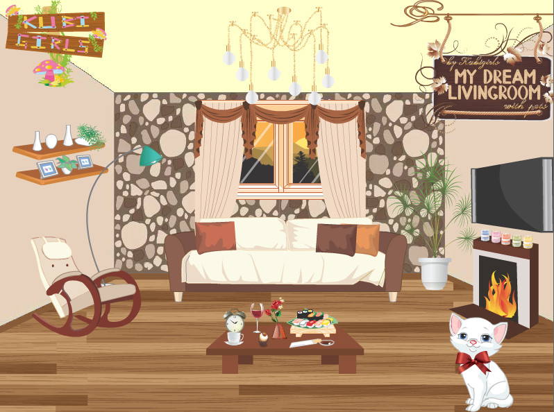 "Game""My Dream Livingroom"""