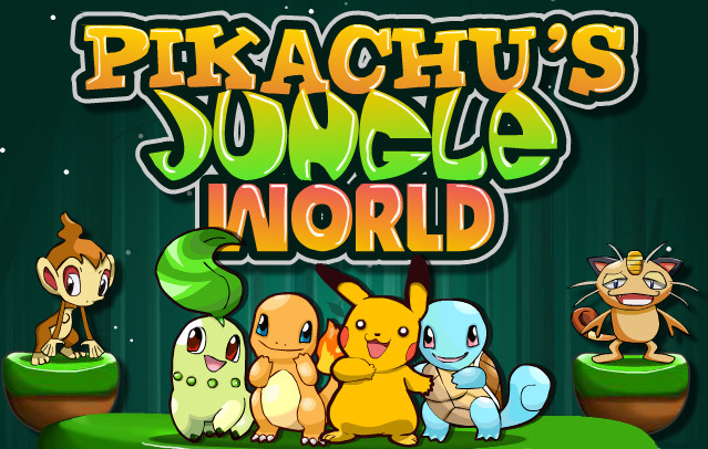 "Game""Pikachus Jungle World"""