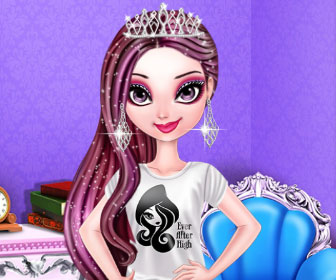 "Game""Raven Queen Pinterest Diva"""