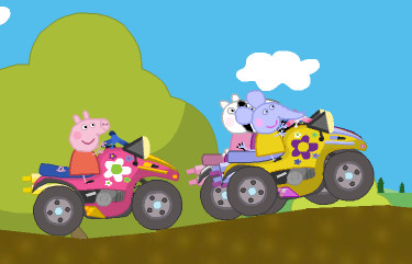 "Game ""Peppa Pig Racing Battle"""