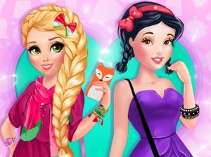 "Spēle""Princesses Fashion Hunters"""