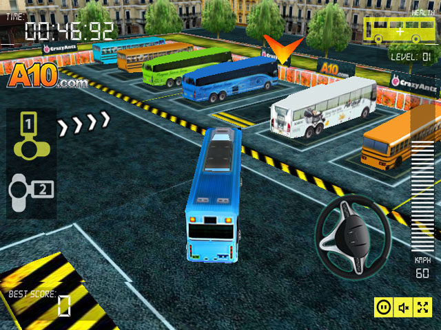 "Game""Bus Man Parking 3d"""