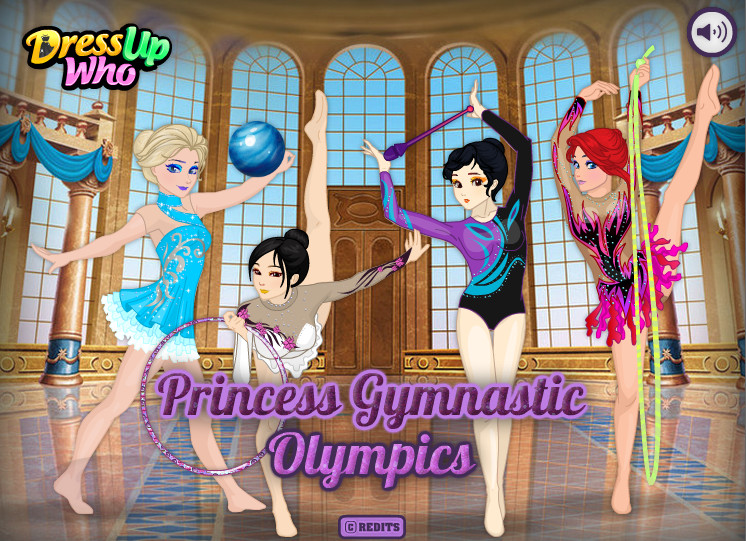 "Game ""Princess Gymnastic Olympics"""