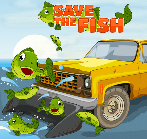 "Game""Save The Fish"""