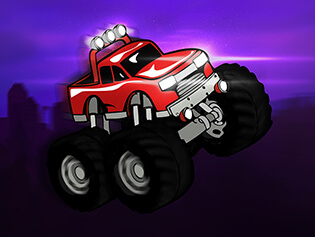 "Spēle""Monstertruck Superhero 2"""