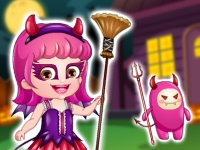 "Game ""Baby Hazel Halloween Dress Up"""