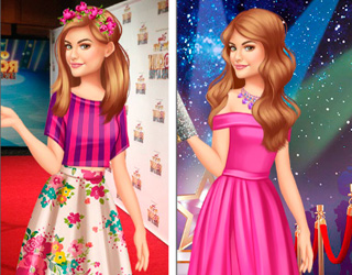 "Game""Lucy Hale Round The Clock Fashionista"""