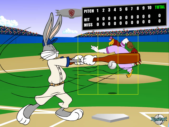 "Game ""Bugs Bunny Home Run Derby"""