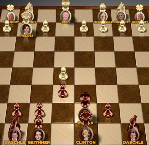 "Game""Obama Chess"""