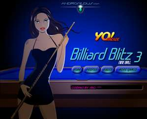 "Spēle""Billiard Blitz 3 Nine Ball"""