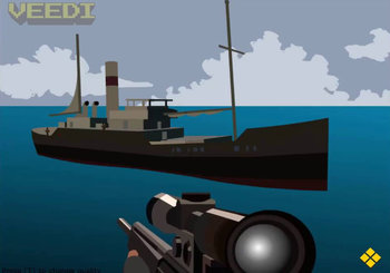 "Game""Foxy Sniper Pirate Shootout"""