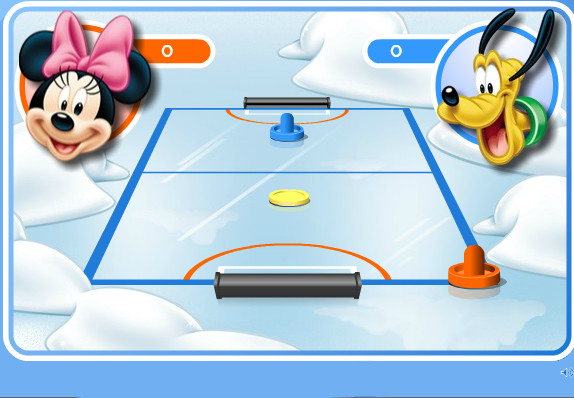 "Game ""Mickey and Friends Shoot Score"""