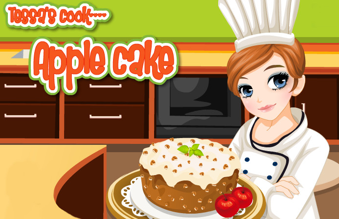 "Game ""Tessa Cook Apple Cake"""