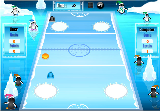 "Игра""Penguin Hockey"""