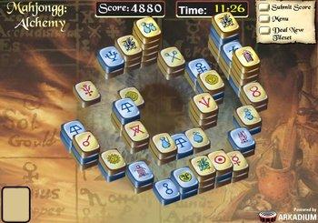 Mahjongg Alchemy - Inbox Games