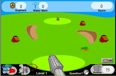 "Game""Gopher War"""