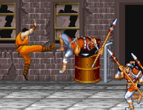 "Game ""Final Fight"""