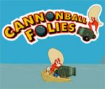 "Game ""Cannon Ball Folies"""