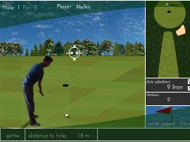 "Game ""Flash Golf"""