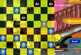 "Game ""Looney Tunes Checkers"""