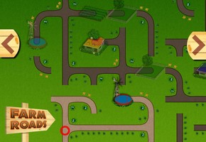 "Game ""Agricultural Roads"""