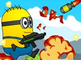 "Game ""Crash Minions Rockets Zombies"""